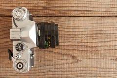 ΒΕΝΕΤΙΑ, ΙΤΑΛΙΑ - 13 ΜΑΐΟΥ 2017: Ένα Zenit EM είναι μια εκλεκτής ποιότητας ταινία camer Στοκ φωτογραφία με δικαίωμα ελεύθερης χρήσης