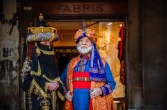 ΒΕΝΕΤΙΑ, ΙΤΑΛΙΑ - 27 ΦΕΒΡΟΥΑΡΊΟΥ 2014: Καρναβάλι της Βενετίας στοκ εικόνες με δικαίωμα ελεύθερης χρήσης
