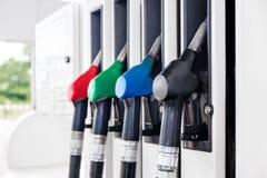 Βενζίνη αντλιών βενζίνης στοκ εικόνα