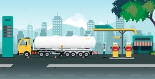 βενζινάδικο τροφών αυτοκινήτων σας Στοκ Εικόνες
