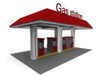 βενζινάδικο απεικόνιση αποθεμάτων