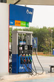 Βενζινάδικο βενζίνης Στοκ εικόνα με δικαίωμα ελεύθερης χρήσης