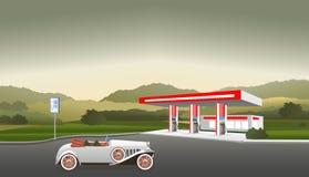 βενζινάδικο τροφών αυτοκινήτων σας Στοκ εικόνα με δικαίωμα ελεύθερης χρήσης