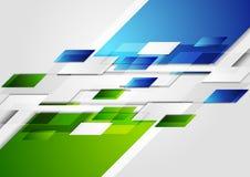 Βεραμάν μπλε εταιρικό υπόβαθρο τεχνολογίας απεικόνιση αποθεμάτων
