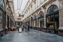 Βερνικωμένες αγορές arcade στις Βρυξέλλες Στοκ Φωτογραφίες