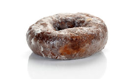 βερνικωμένη doughnut ζάχαρη Στοκ Φωτογραφίες