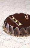 Βερνικωμένο σοκολάτα Mousse κέικ στοκ φωτογραφίες με δικαίωμα ελεύθερης χρήσης