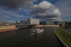Βερολίνο από την ηλιοφάνεια Στοκ Φωτογραφίες