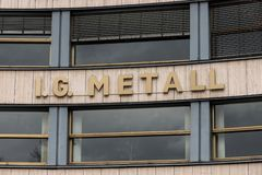Βερολίνο, Βραδεμβούργο/Γερμανία - 15 03 19: ig metall κτήριο στο Βερολίνο Γερμανία στοκ εικόνα