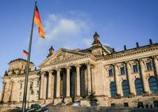 01 02 2011, Βερολίνο, Γερμανία Διάσημες θέες του Βερολίνου Αρχιτεκτονική της Γερμανίας Στοκ Εικόνα