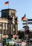 01 02 2011, Βερολίνο, Γερμανία Διάσημες θέες του Βερολίνου Αρχιτεκτονική της Γερμανίας Στοκ Εικόνες