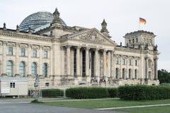 Βερολίνο που χτίζει τη Γερμανία reichstag Στοκ Φωτογραφία