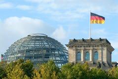 Βερολίνο που χτίζει reichstag Στοκ Φωτογραφίες