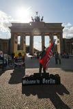 Βερολίνο στην υποδοχή Στοκ φωτογραφία με δικαίωμα ελεύθερης χρήσης