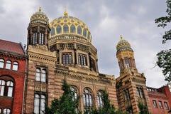Βερολίνο neues synagoge Στοκ εικόνα με δικαίωμα ελεύθερης χρήσης