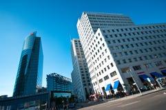 Βερολίνο platz potsdamer Στοκ εικόνα με δικαίωμα ελεύθερης χρήσης