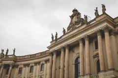 ΒΕΡΟΛΙΝΟ, ΓΕΡΜΑΝΙΑΣ - 06.2017 ΔΕΚΕΜΒΡΙΟΥ: Humboldt πανεπιστημιακό Βερολίνο Στοκ Φωτογραφίες