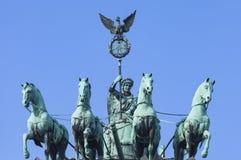 ΒΕΡΟΛΙΝΟ, ΓΕΡΜΑΝΙΑ - 11 ΑΠΡΙΛΊΟΥ 2014: Quadriga Στοκ Φωτογραφία