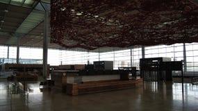 ΒΕΡΟΛΙΝΟ, ΓΕΡΜΑΝΙΑ - 17 Ιανουαρίου 2015: Μέσα των ΤΖΙΤΖΙΦΩΝ αερολιμένων του Βερολίνου Βραδεμβούργο, ακόμα κάτω από την κατασκευή, Στοκ φωτογραφία με δικαίωμα ελεύθερης χρήσης
