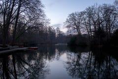 ΒΕΡΟΛΙΝΟ, ΓΕΡΜΑΝΙΑ - 14 ΙΑΝΟΥΑΡΊΟΥ 2017: ποταμός σε Tiergarten Στοκ Εικόνες