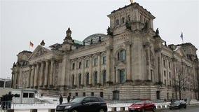 ΒΕΡΟΛΙΝΟ - ΓΕΡΜΑΝΙΑ, στις 8 Ιανουαρίου 2016, Reichstag φιλμ μικρού μήκους