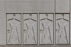 ΒΕΡΟΛΙΝΟ, ΓΕΡΜΑΝΙΑ - ΤΟΝ ΙΟΎΛΙΟ ΤΟΥ 2014: Το μορφωματικό άτομο σε έναν πλευρικό τοίχο του Γ Στοκ φωτογραφία με δικαίωμα ελεύθερης χρήσης