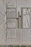 ΒΕΡΟΛΙΝΟ, ΓΕΡΜΑΝΙΑ - ΤΟΝ ΙΟΎΛΙΟ ΤΟΥ 2014: Το μορφωματικό άτομο σε έναν πλευρικό τοίχο του Γ Στοκ Φωτογραφία
