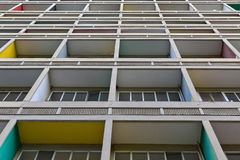 ΒΕΡΟΛΙΝΟ, ΓΕΡΜΑΝΙΑ - ΤΟΝ ΙΟΎΛΙΟ ΤΟΥ 2014: Το Corbusier Haus σχεδιάστηκε κοντά Στοκ φωτογραφίες με δικαίωμα ελεύθερης χρήσης
