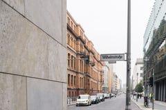 ΒΕΡΟΛΙΝΟ - 18 ΟΚΤΩΒΡΊΟΥ 2016: Μια άποψη στα τούβλινα κτήρια στο Βερολίνο στοκ φωτογραφίες με δικαίωμα ελεύθερης χρήσης