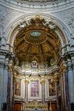ΒΕΡΟΛΙΝΟ, GERMANY/EUROPE - 15 ΣΕΠΤΕΜΒΡΊΟΥ: Λεπτομέρεια του καθεδρικού ναού Στοκ Φωτογραφία
