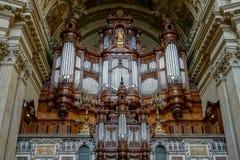 ΒΕΡΟΛΙΝΟ, GERMANY/EUROPE - 15 ΣΕΠΤΕΜΒΡΊΟΥ: Λεπτομέρεια του καθεδρικού ναού Στοκ φωτογραφία με δικαίωμα ελεύθερης χρήσης