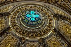 ΒΕΡΟΛΙΝΟ, GERMANY/EUROPE - 15 ΣΕΠΤΕΜΒΡΊΟΥ: Λεπτομέρεια του καθεδρικού ναού Στοκ Εικόνες