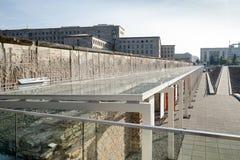 ΒΕΡΟΛΙΝΟ, GERMANY/EUROPE - 15 ΣΕΠΤΕΜΒΡΊΟΥ: Μέρος του παλαιού σοβιετικού W Στοκ φωτογραφία με δικαίωμα ελεύθερης χρήσης