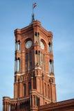 ΒΕΡΟΛΙΝΟ, GERMANY/EUROPE - 15 ΣΕΠΤΕΜΒΡΊΟΥ: Το κόκκινο Δημαρχείο στα τζίτζιφα Στοκ φωτογραφία με δικαίωμα ελεύθερης χρήσης