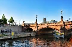 Βερολίνο, οδός της Willy Brandt γεφυρών Στοκ Εικόνα