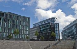 Βερολίνο που χτίζει τη Γερμανία σύγχρονη Στοκ φωτογραφία με δικαίωμα ελεύθερης χρήσης