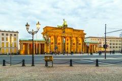 Βερολίνο, σκαπάνη Brandenburger Στοκ φωτογραφία με δικαίωμα ελεύθερης χρήσης