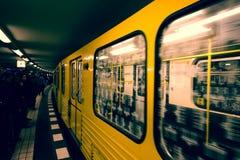 Βερολίνο υπόγεια Στοκ Εικόνες