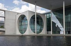 Βερολίνο, Bundeskanzleramt/Marie-Elisabeth-LÃ ¼ ders-Haus, Regierungsviertel Στοκ Εικόνες
