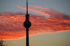 Βερολίνο fernsehturm Στοκ Εικόνα