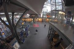 Βερολίνο Hauptbahnhof (κεντρικός σταθμός του Βερολίνου) Στοκ Εικόνα