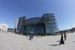 Βερολίνο Hauptbahnhof (κεντρικός σταθμός του Βερολίνου) Στοκ εικόνα με δικαίωμα ελεύθερης χρήσης