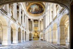 ΒΕΡΣΑΛΛΙΕΣ, ΓΑΛΛΙΑ η Royal Palace και κήπος στις Βερσαλλίες στοκ εικόνα