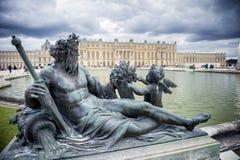 ΒΕΡΣΑΛΛΙΕΣ, ΓΑΛΛΙΑ - η Royal Palace στις Βερσαλλίες στοκ φωτογραφία με δικαίωμα ελεύθερης χρήσης