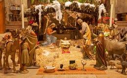Βερόνα - Βηθλεέμ στη romanesque χαμηλότερη εκκλησία SAN Fermo Maggiore Στοκ Φωτογραφίες