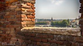 Βερόνα Ιταλία Centro Στοκ Εικόνες