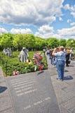 Βετεράνη πολέμου στους παλαιμάχους το αναμνηστικό Washington DC Πολέμων της Κορέας στοκ εικόνα με δικαίωμα ελεύθερης χρήσης