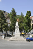 Βελίκο Τύρνοβο BG, στις 15 Αυγούστου: Μνημείο ελευθερίας στη μεσαιωνική πόλη Βελίκο Τύρνοβο από τη Βουλγαρία Στοκ φωτογραφίες με δικαίωμα ελεύθερης χρήσης