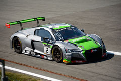 Βελγική ομάδα WRT Audi R8 LMS λεσχών Audi σε Monza Στοκ φωτογραφία με δικαίωμα ελεύθερης χρήσης