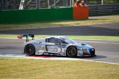 Βελγική ομάδα WRT Audi R8 LMS λεσχών Audi σε Monza Στοκ εικόνα με δικαίωμα ελεύθερης χρήσης